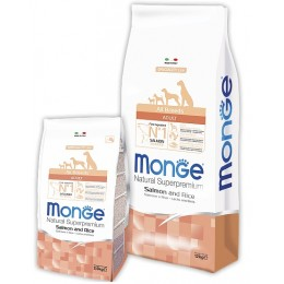 Корм для собак Monge DOG All breeds Adult salmon & rice