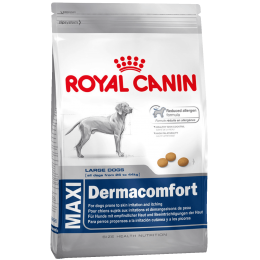 Royal Canin Maxi Dermacomfort - корм Роял Канин для крупных пород собак с проблемами кожи