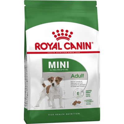 Royal Canin Mini Adult корм для собак мини пород Роял Канин